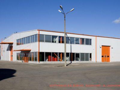Küttemaailma lao- ja büroohoone