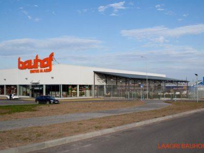 Bauhofi Laagri ehitusmaterjalide kaupluse juurdeehitus